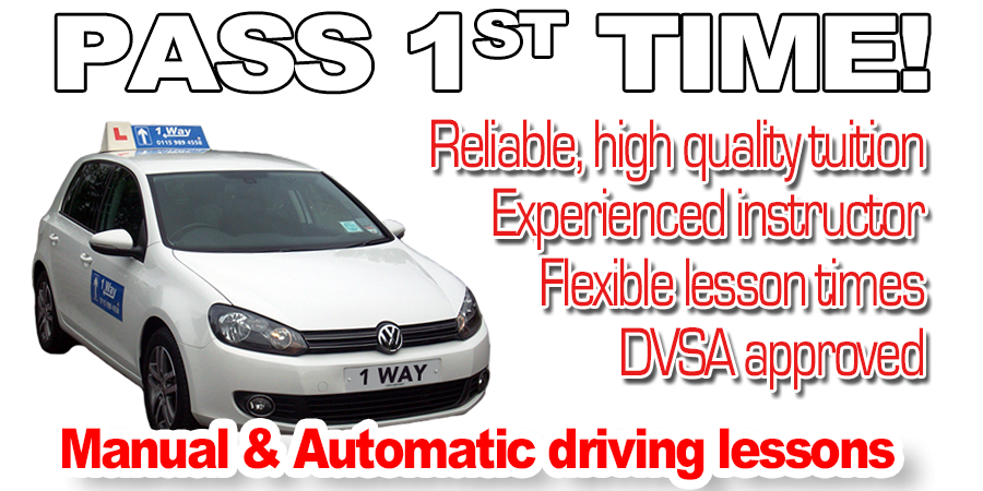 Driving lessons with 1 Way Driving School